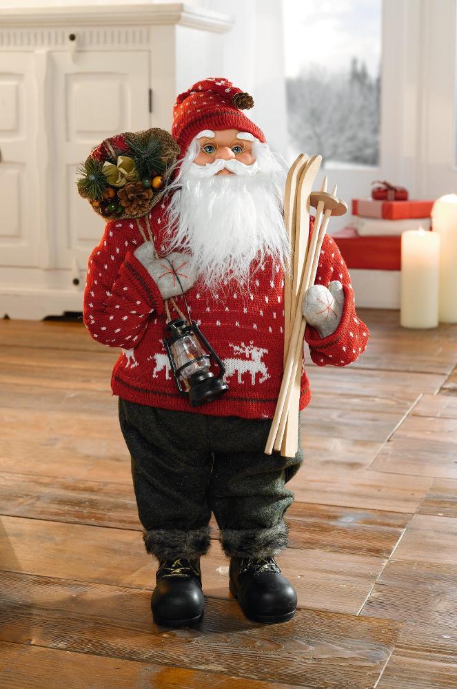 """Фигура декоративная """"Большой Санта Клаус"""""""