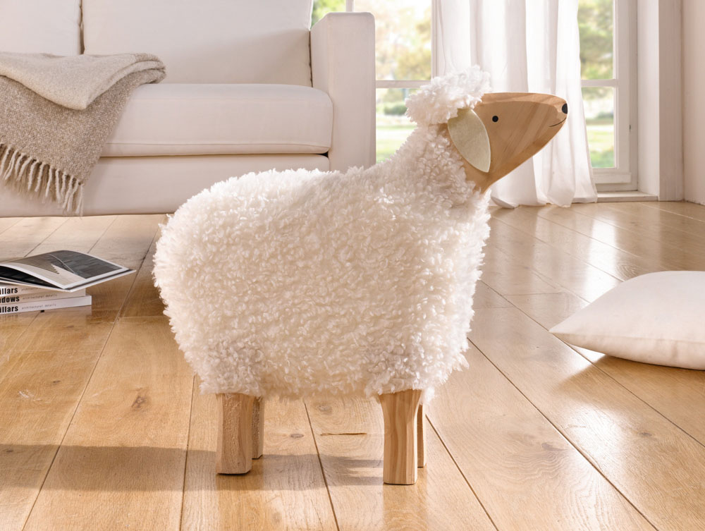 "Декоративная фигура овечки ""Волли"" В46см"