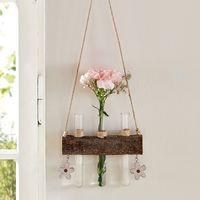 """Подвесное украшение с вазочками """"Цветы"""""""