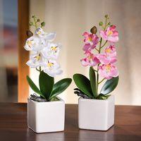 """Декоративные цветы """"Орхидеи"""", 2шт"""