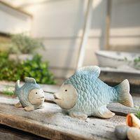 "Декоративные фигуры рыбок ""Голубая лагуна"", 2шт"