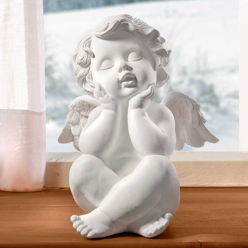 "Декоративная фигура ""Мечтающий ангел"" [01658] Декоративная фигура ""Мечтающий ангел"""