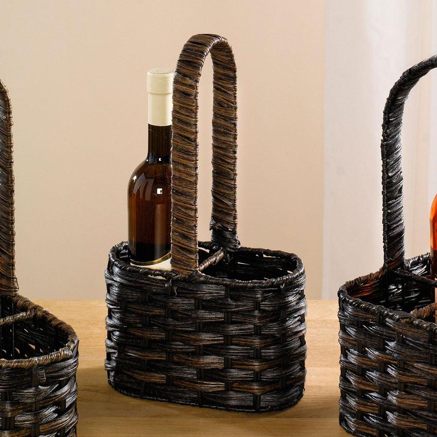 """Корзинка для 2 бутылок """"Тренд"""" [05207] Корзинка для 2 бутылок """"Тренд"""""""