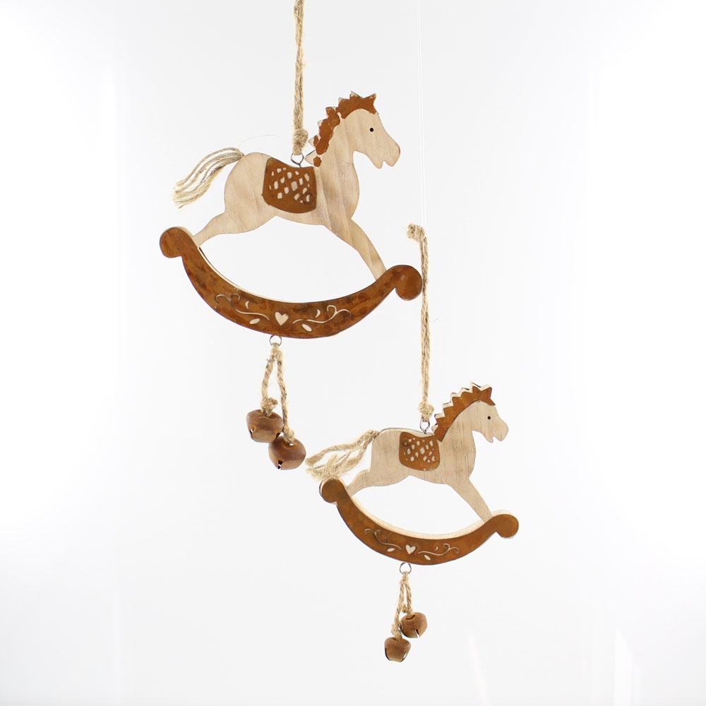 """Подвесные украшения """"Лошадки-качалки"""", 2шт."""