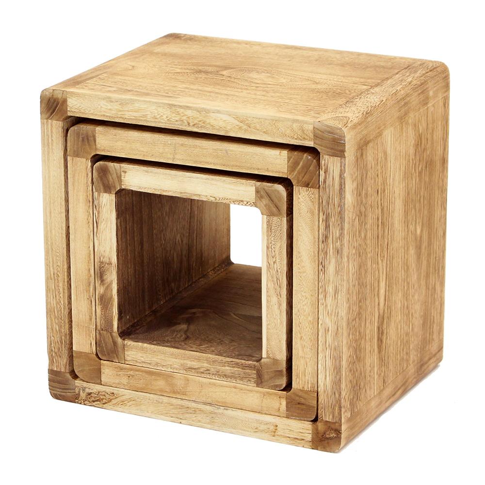 """Полки-столики """"Кубы"""", 3штуки"""