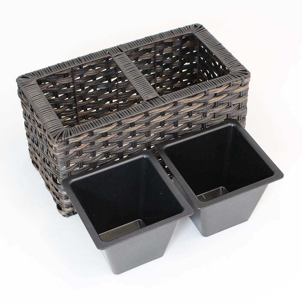 "Ящики для растений ""Тренд"", 2шт"