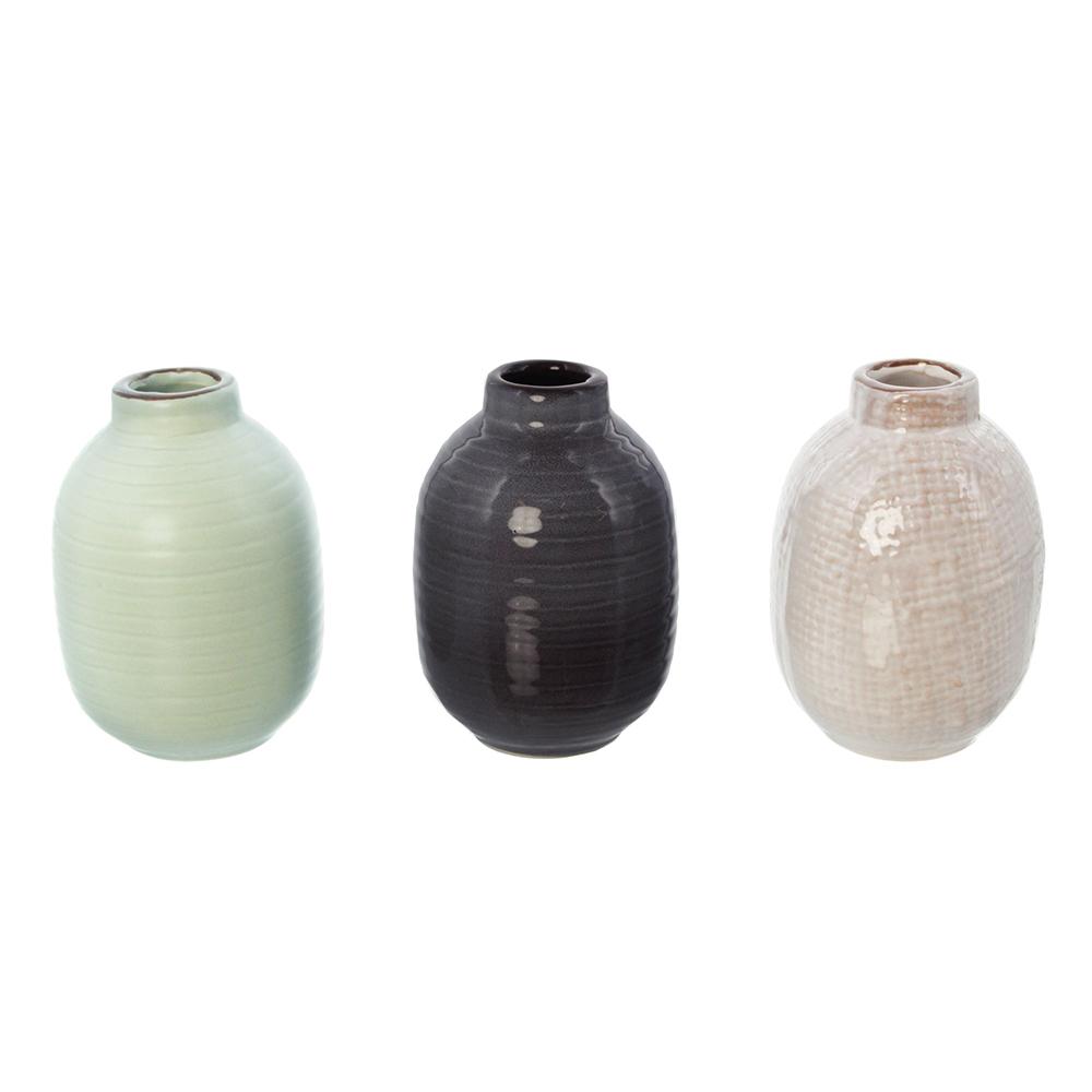 """Декоративные вазочки """"Шик"""", 3 штуки [05418] Декоративные вазочки """"Шик"""", 3шт"""