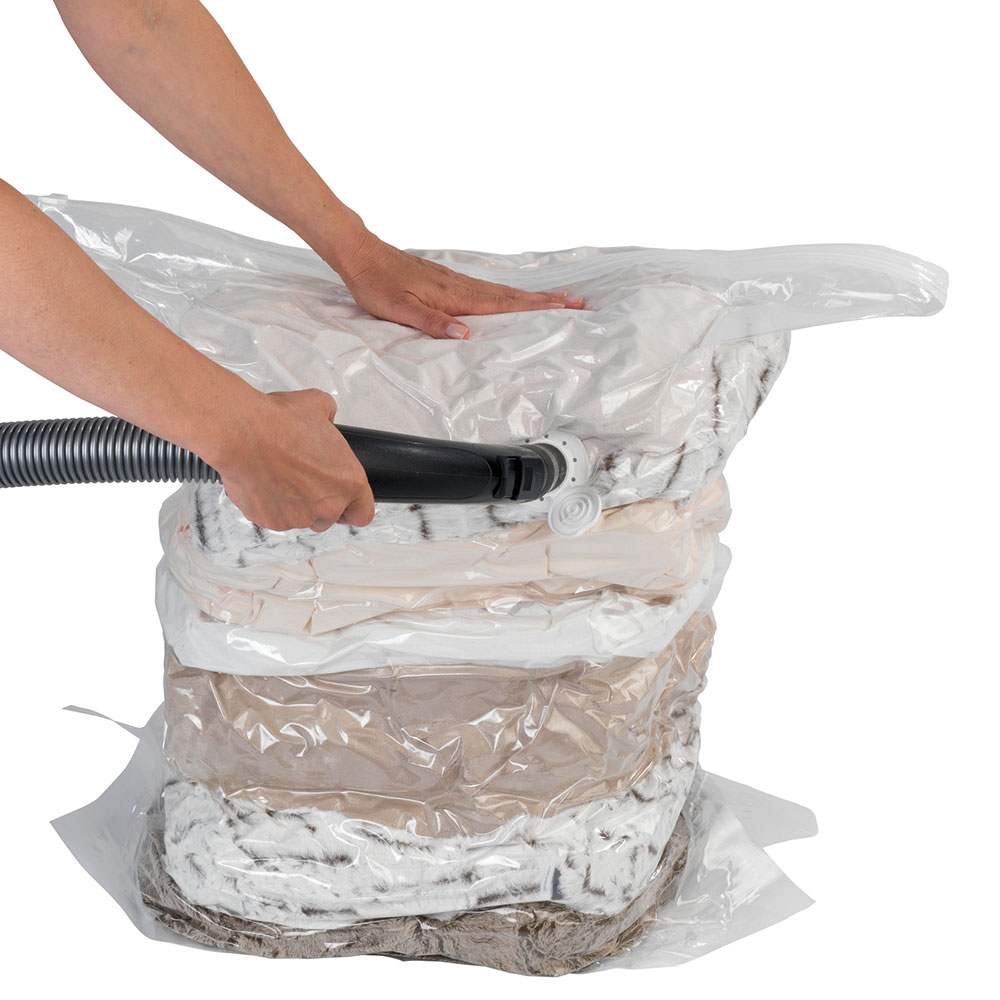 """Вакуумный пакет для хранения вещей """"Куб"""", размер L"""