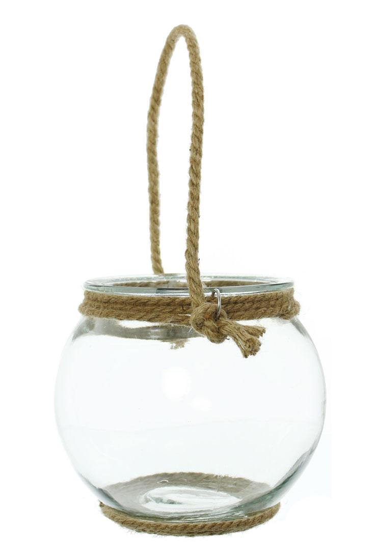 """Декоративный подсвечник-ваза """"Ропе"""", малый"""