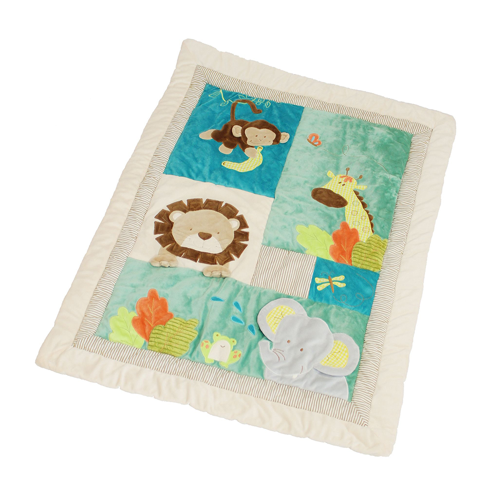 """Одеяло-подстилка для малышей """"Зоопарк"""""""