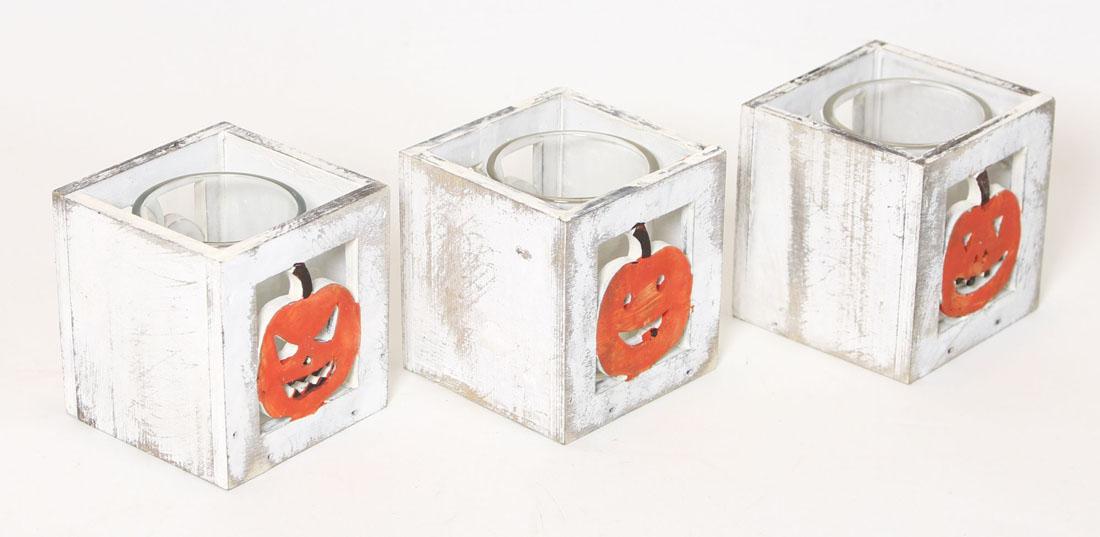 "Подсвечники ""Хеллоуин"" 3шт."