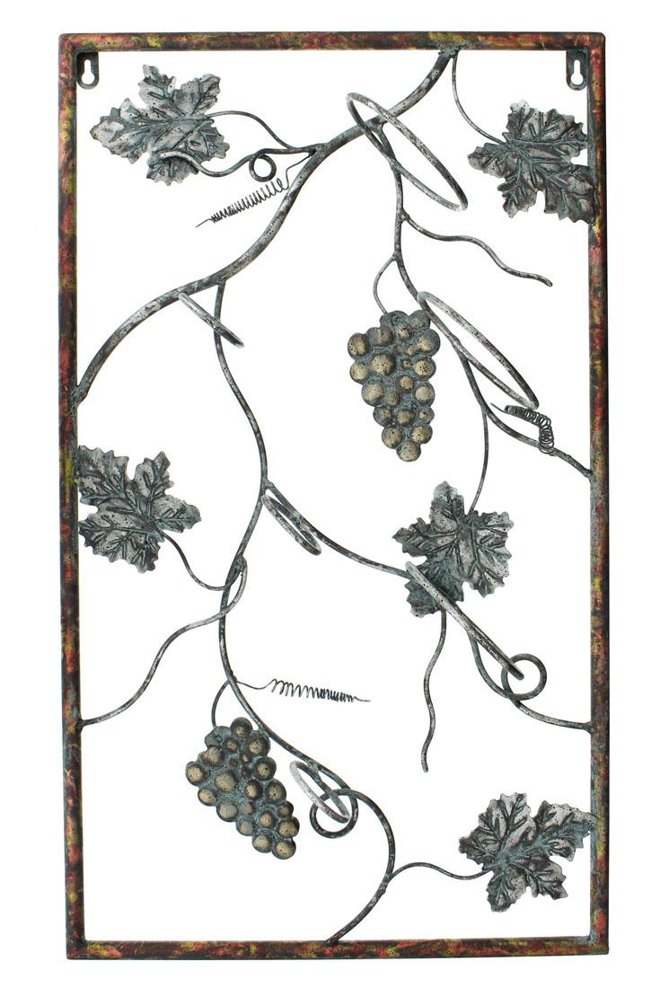 """Держатель для вина настенный """"Виноградная лоза"""""""