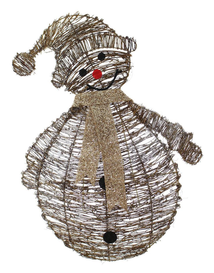 "Декоративная фигура ""Снеговик - плетение"" [05861] Декоративная фигура ""Снеговик - плетение"""