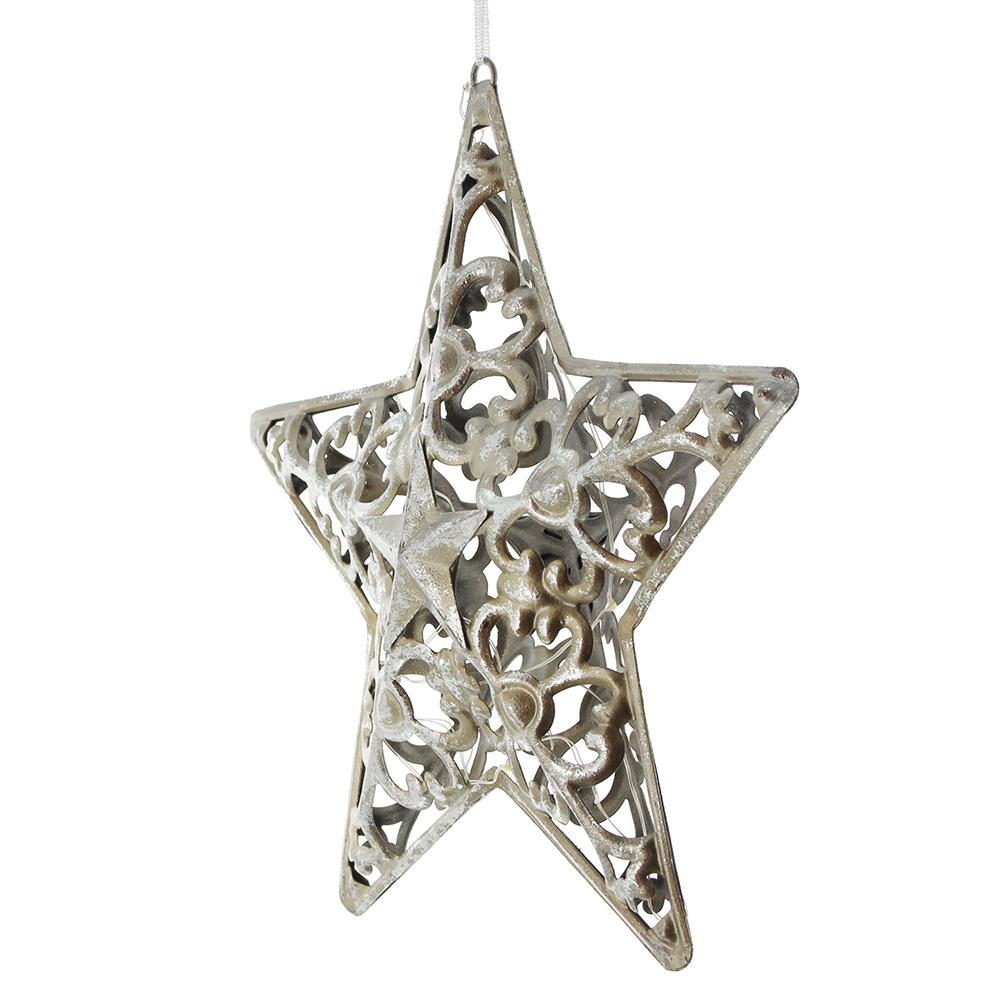 """Подвесное украшение со светодиодной подсветкой """"Звезда"""""""