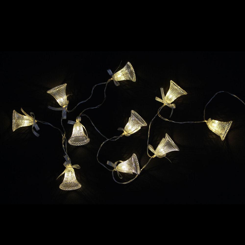 """Декоративная гирлянда со светодиодной подсветкой """"Колокольчики"""""""