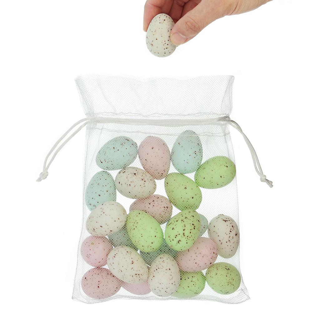 """Декоративные яйца """"Пастельные цвета"""", 24шт"""