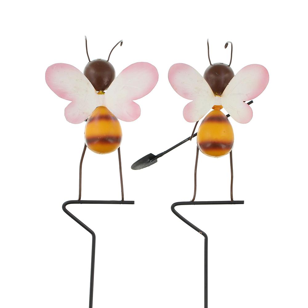 """Декоративные штекеры """"Пчелки"""", 2шт"""