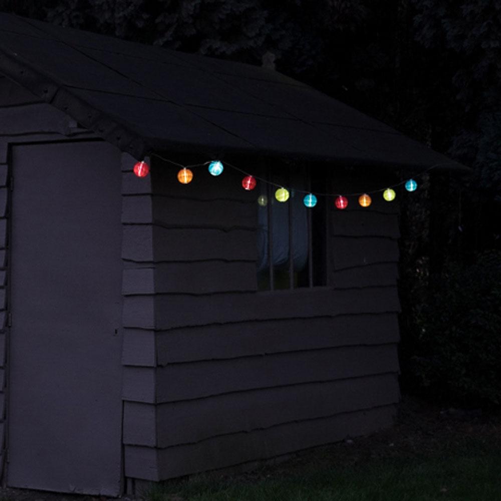 """Световая гирлянда  с солнечной батареей """"Лампионы"""""""