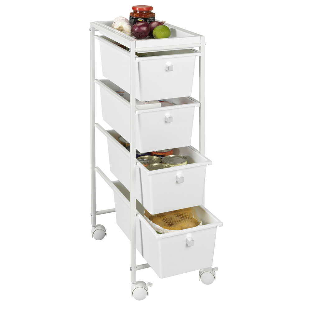 Кухонная тележка с 4 ящиками Gala