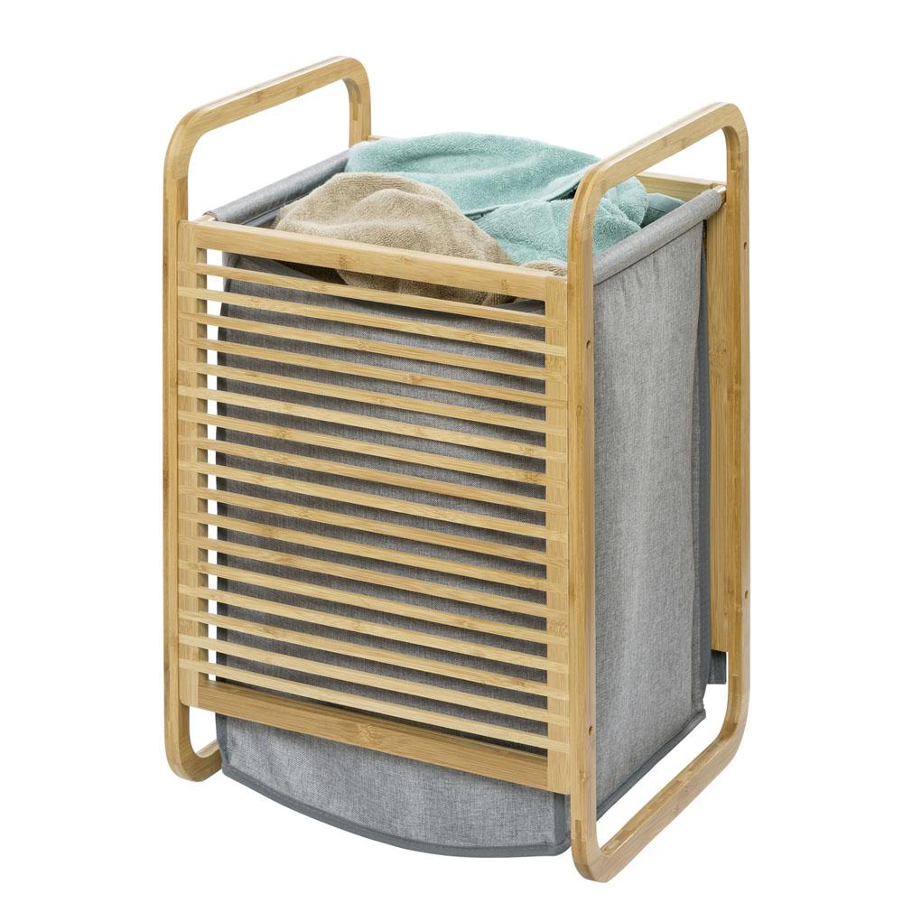 Корзина для белья Bahari Bambus