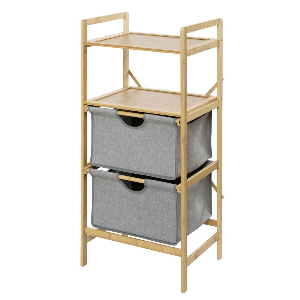 Этажерка для белья Bahari Bambus, с 2-мя ящиками