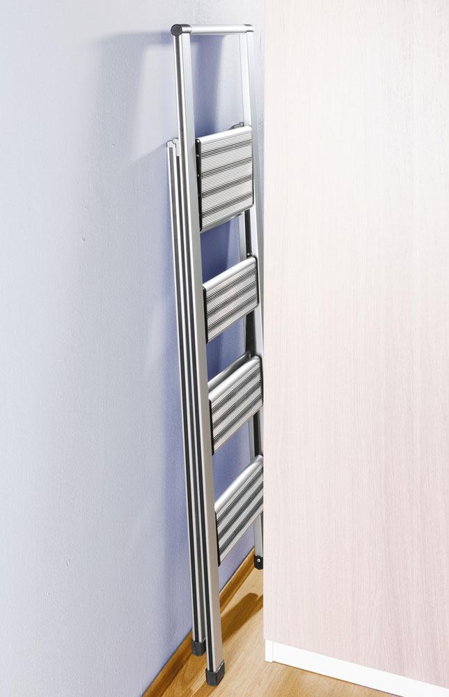 Лестница складная Aluminium, 4 ступени
