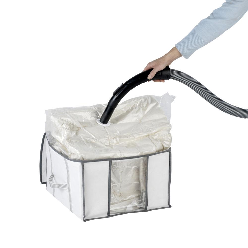 Бокс для хранения с вакуумным мешком S, 40х25х42см