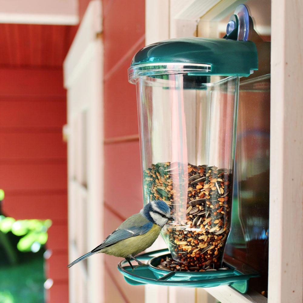 Кормушка для птиц, с присоской [06257] Кормушка для птиц, с присоской