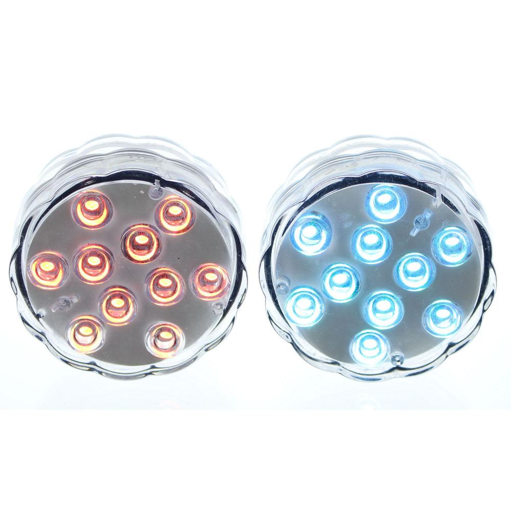 Светодиодные светильники с пультами дистанционного управления, 2 штуки [06270],