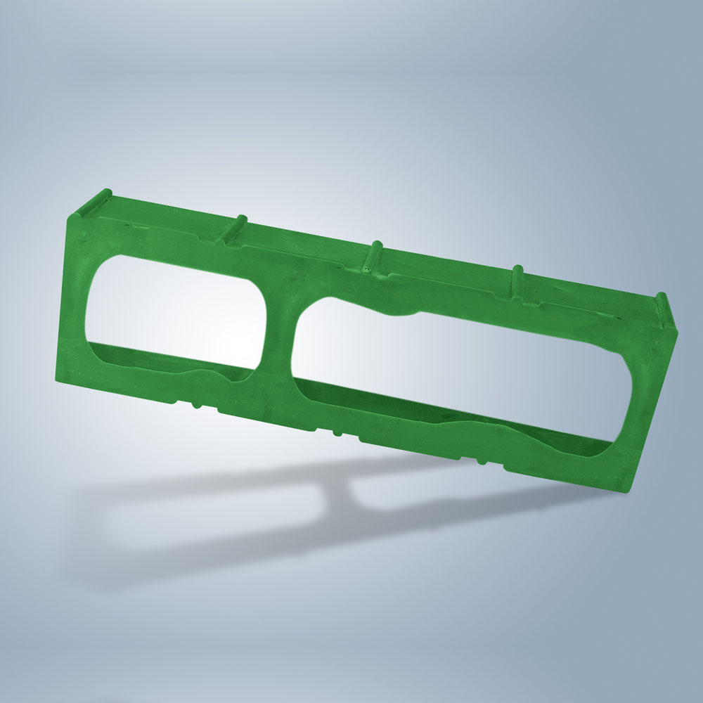 D.i.Y. Лекало камня для ограничения грядок, зеленый