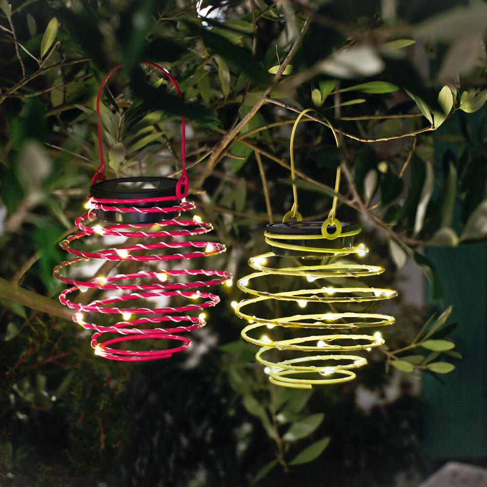 """Подвесные украшения """"Спирали"""" со светодиодными светильниками, 2шт"""