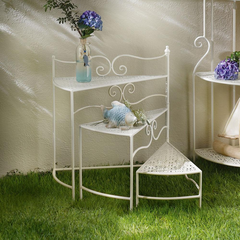 """Подставка-лесенка для цветов """"White Romance"""" [06397] Подставка-лесенка для цветов """"White Romance"""""""