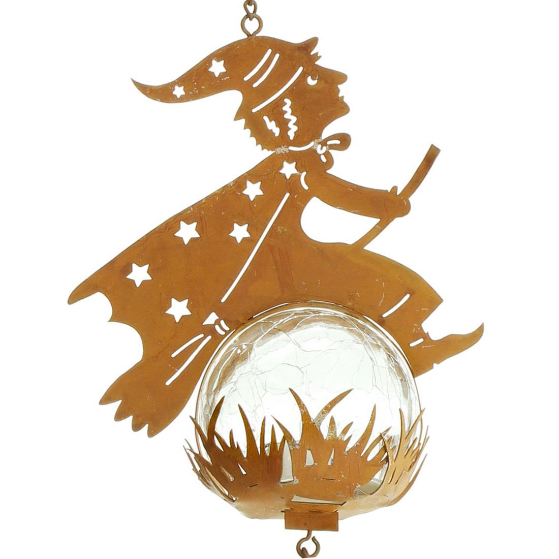 """Подвесное украшение """"Полет ведьмы"""", со светодиодной подсветкой"""