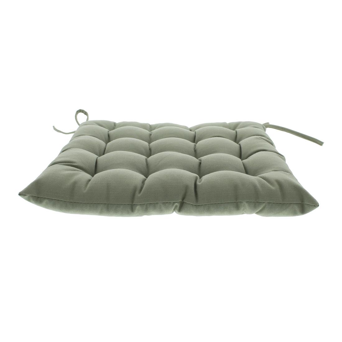 Подушка для сидения, оливковая