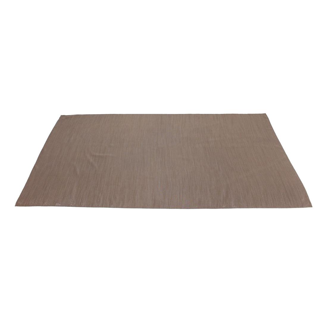 """Дорожка на стол """"Блестящая коричневая"""""""