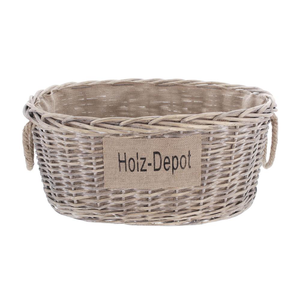 """Универсальная корзина """"Holz Depot"""" [06502] вид спереди"""