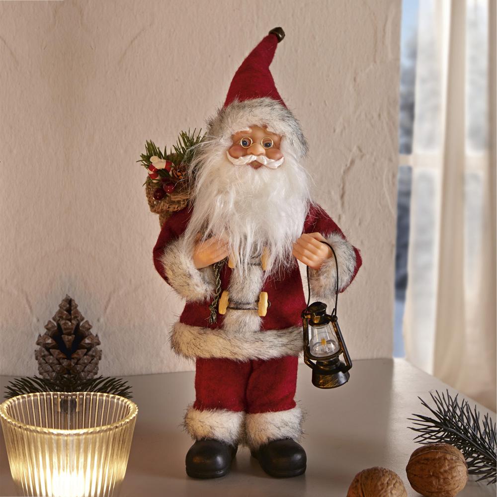 "Декоративная фигура ""Санта Клаус с фонариком"""