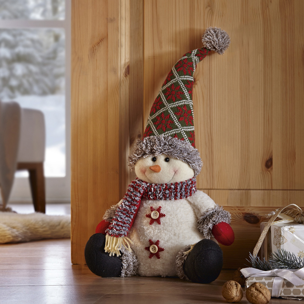 "Стоппер для двери ""Снеговик"""