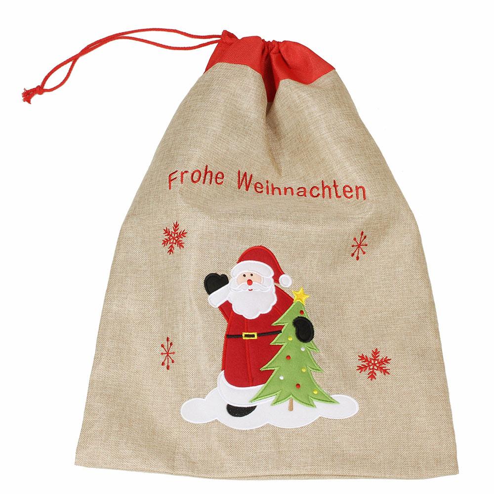 """Мешок для подарков """"Счастливого Рождества"""" [06545],"""