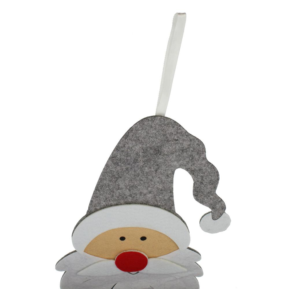 """Подвесное украшение """"Рождественский календарь Санта"""", флис [06549],"""