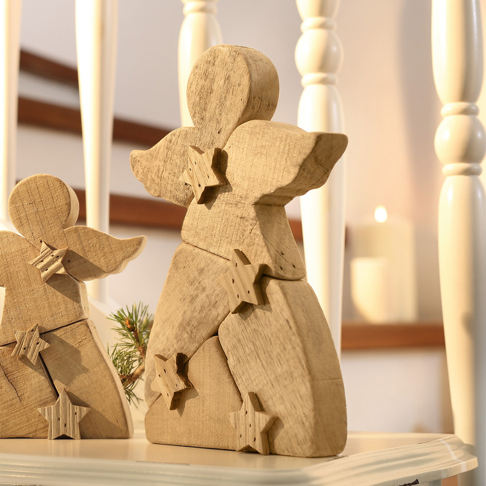"""Декоративная фигура """"Ангел - звездочки"""", высота 29 см"""