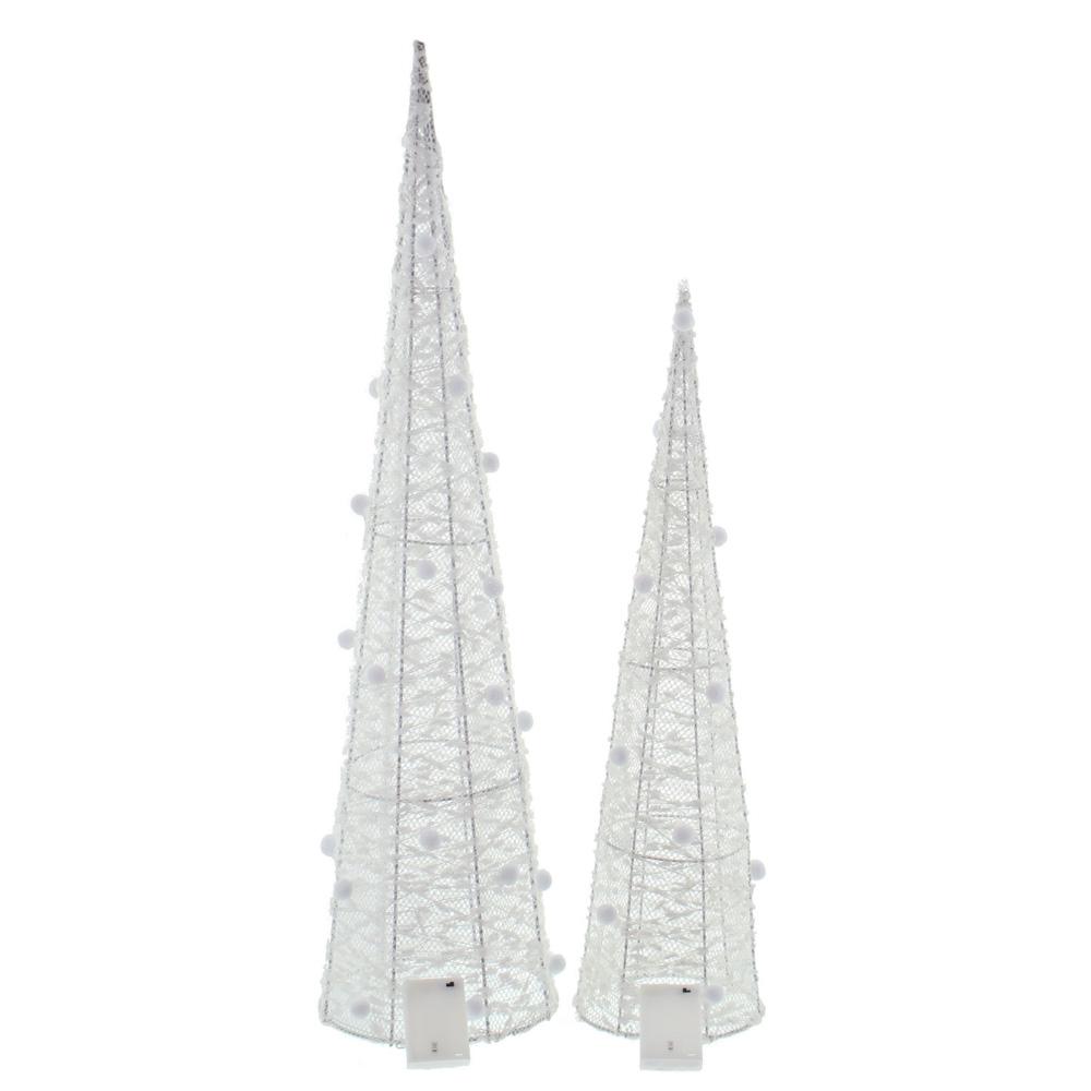 """Декоративные фигуры с подсветкой """"Снежные купола"""", 2 штуки [06577],"""