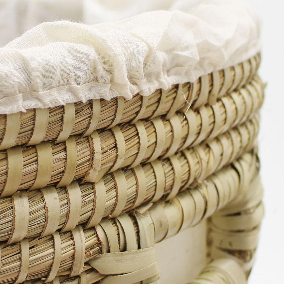 """Корзина для белья с крышкой """"Эстель"""", Высота 50 см [02914],"""