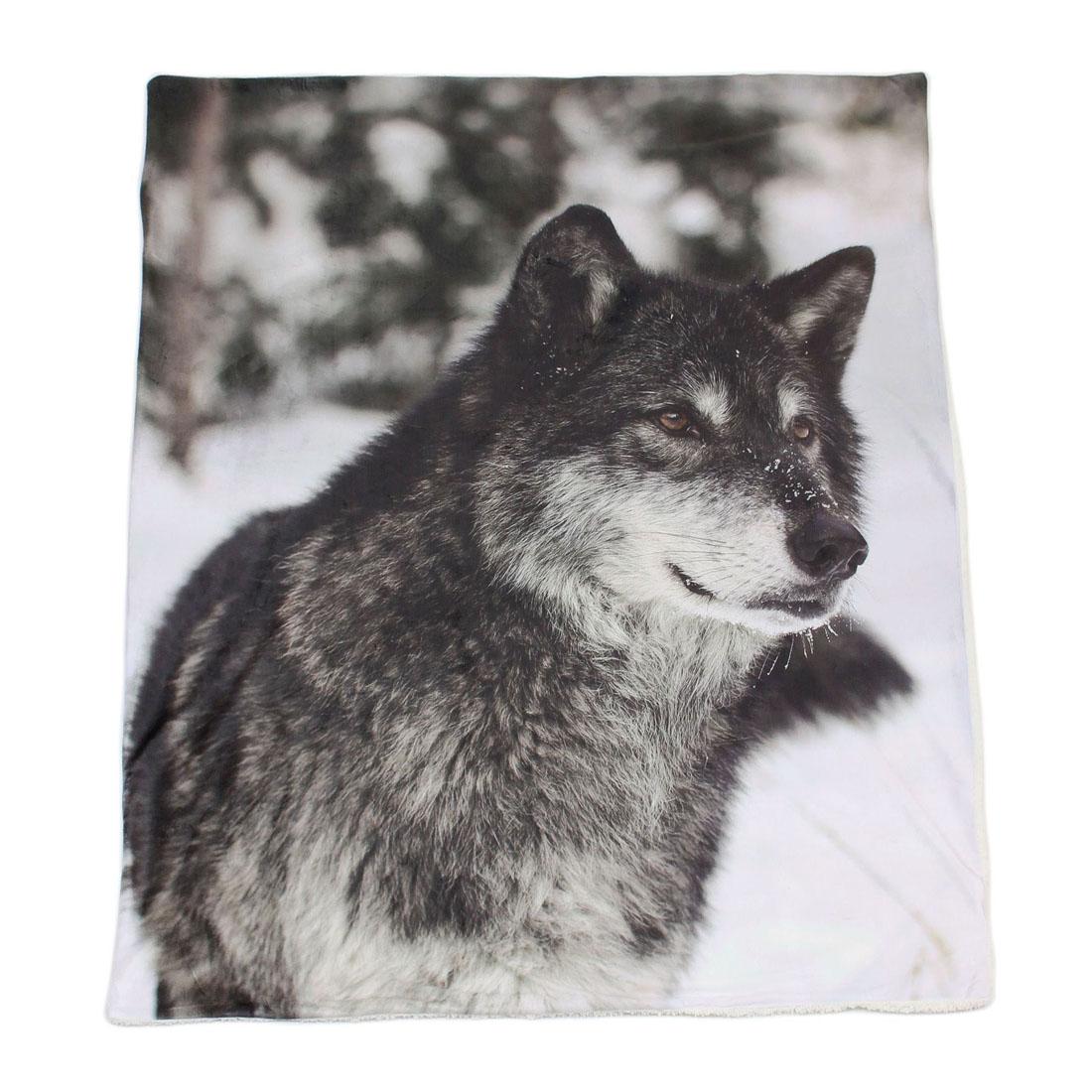 "Плед ""Волк"" [05287],"