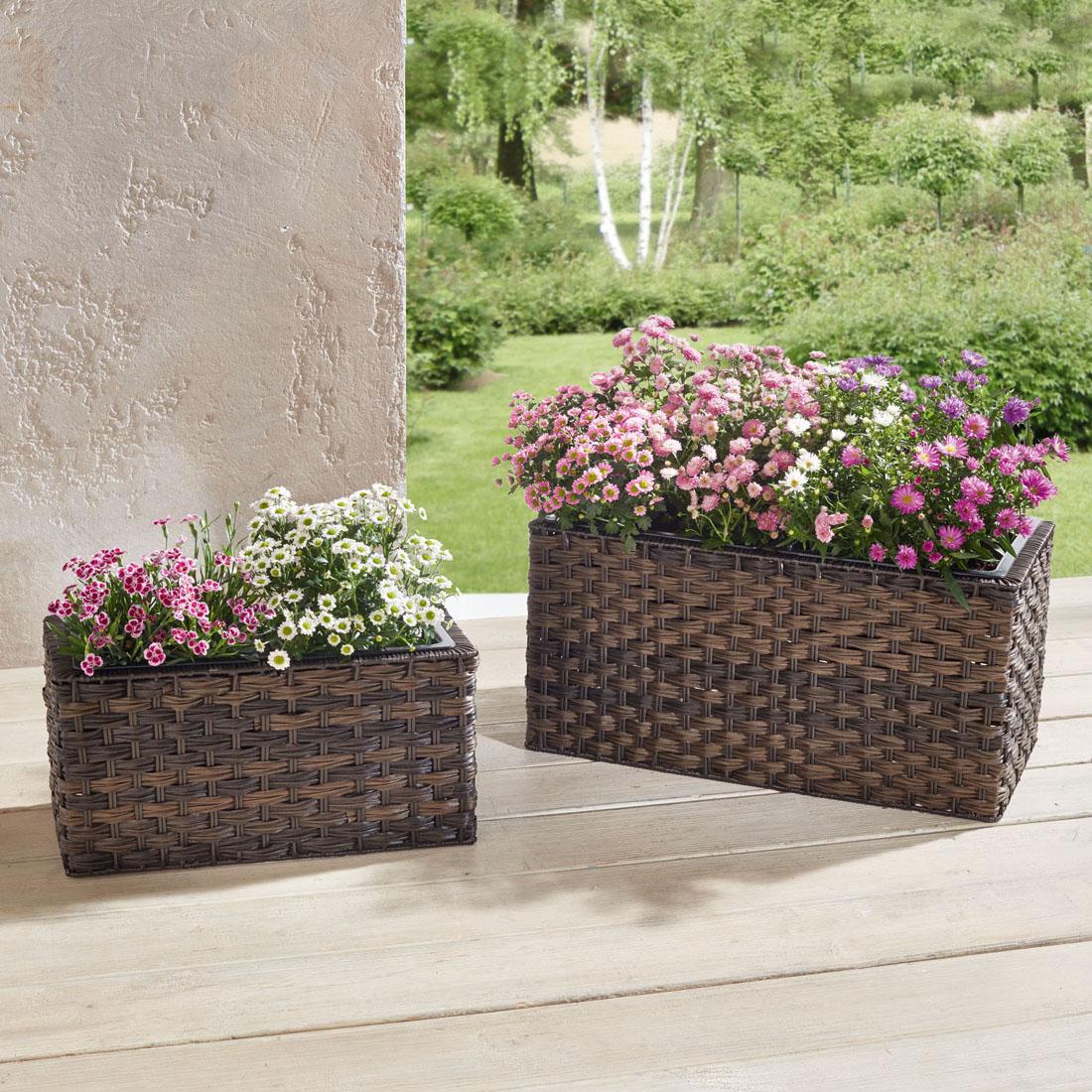 "Ящики для растений ""Тренд"", 2 штуки [05366],"