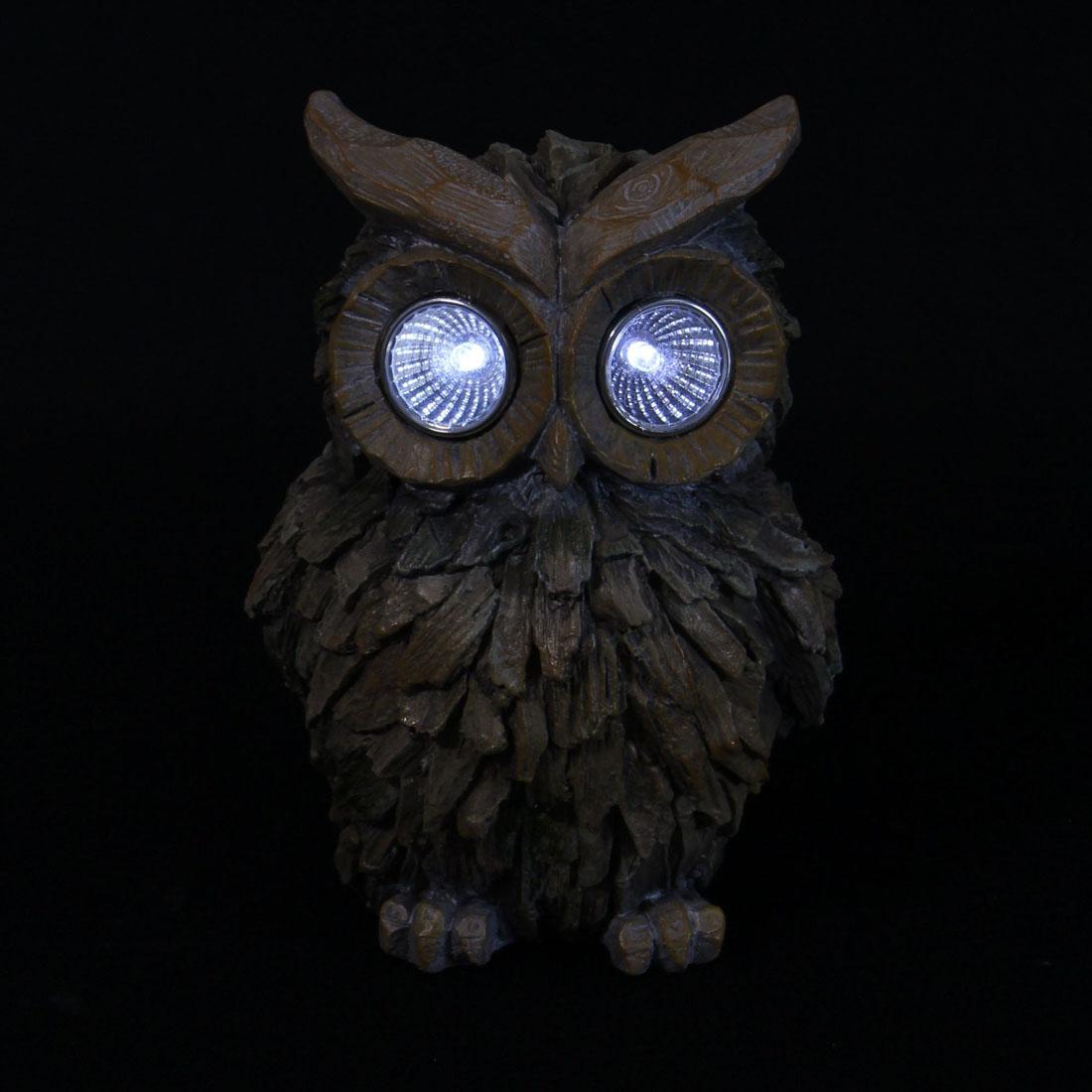 """Декоративная фигура """"Сова"""", с солнечным светильником [06623],"""