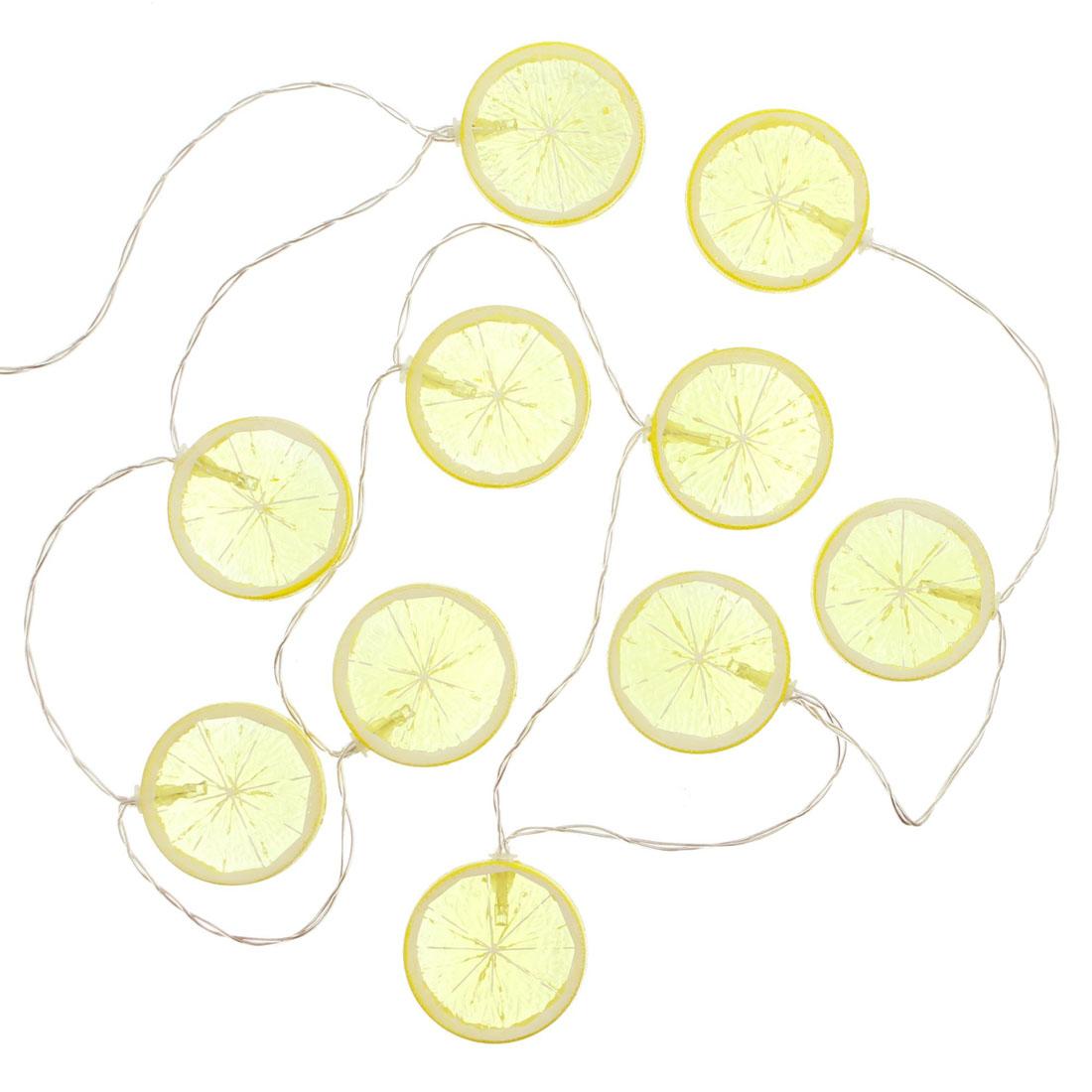 """Декоративная гирлянда  """"Лимоны"""", световая [06641]"""