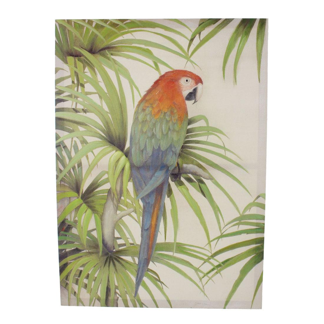 панно попугай