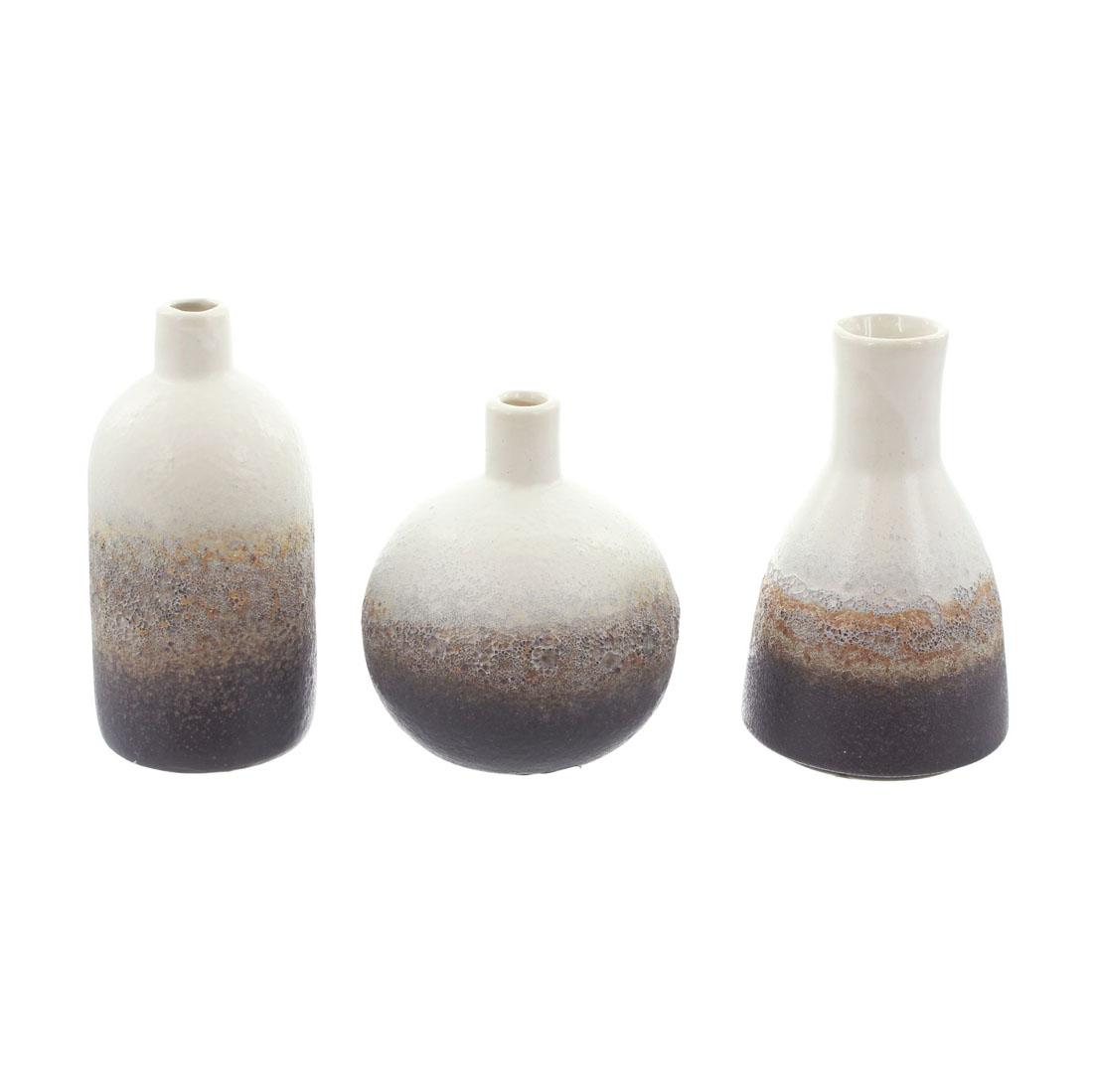 """Декоративные вазочки """"Гармония"""", 3 штуки [06647],"""