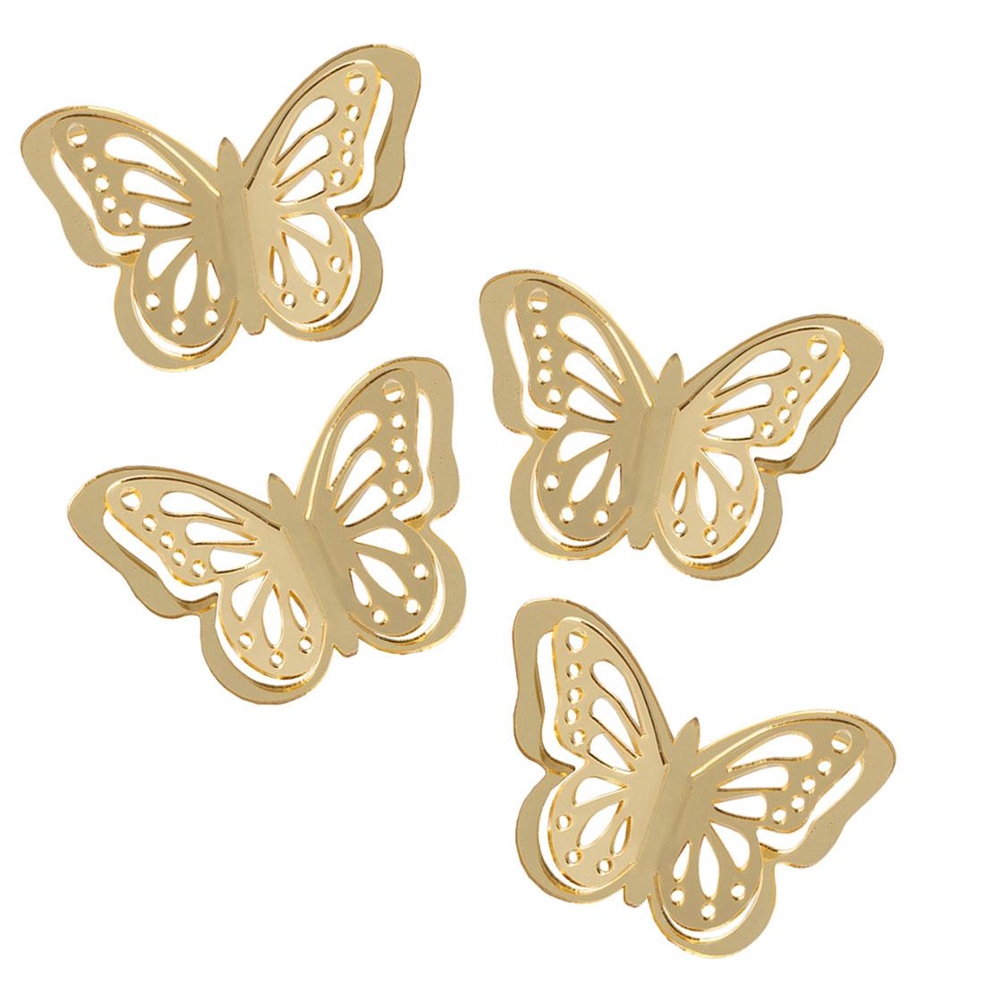 """Декоративные украшения """"Бабочки"""", 4 штуки [06711],"""